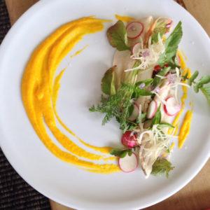 salada de peive Hotel Casa de Uco