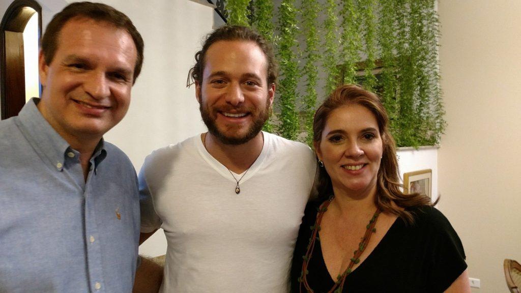 Foto Paulo, eu e Dalton